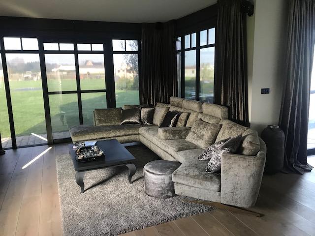 Sofa en interieur op maat